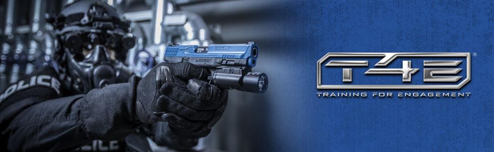 T4e Chalk BALLS cb43 Cal .43 gesso palline 100 pezzi UMAREX Walther PPQ magfed