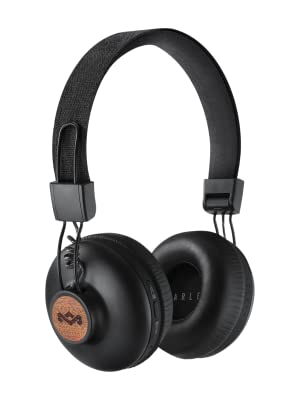 House of Marley Positive Vibration 2 Wireless - Bluetooth On-Ear Headphones, Noise Isolating
