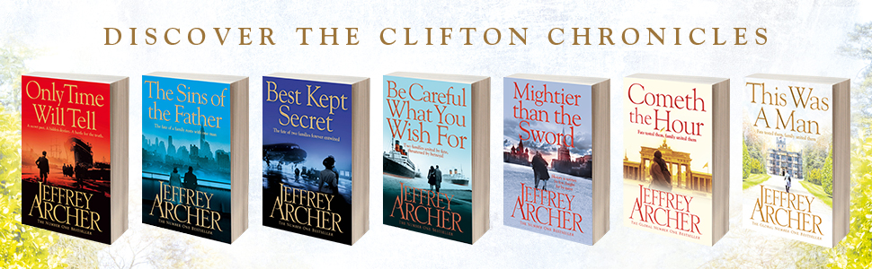 Clifton Chronicles, Jefferey Archer, Sins of the Father, historical thriller, Heads You Win, saga,