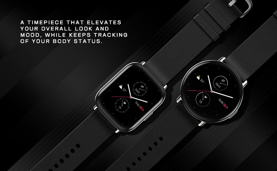 Zepp E Circle and Square Smartwatch