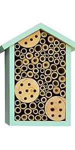 teal bee house