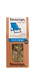 tea, teapigs, lemon, ginger, quality, flavor, loose tea, teabag, whole, ingredients