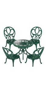シルバニアファミリー 家具 ガーデンテーブルチェアーセット カ-621