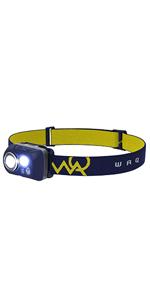 WAQ アウトドア キャンプ ヘッドライト ヘッドランプ LEDヘッドライト