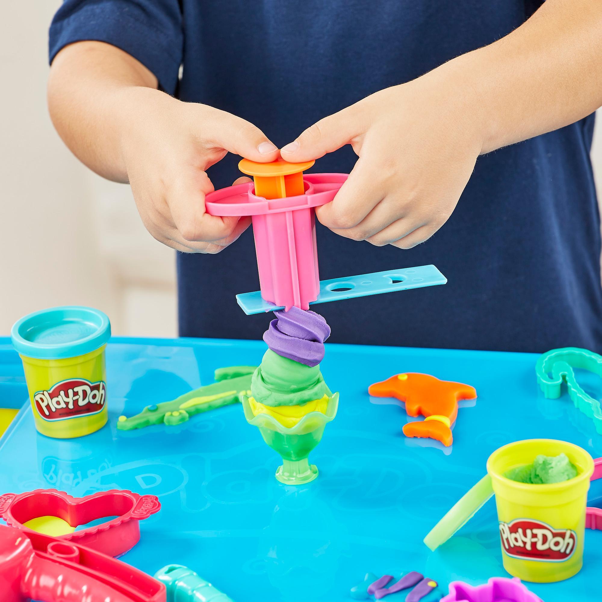 Play Doh Play N Store Table Kids Modeling Play Set Kit Ebay