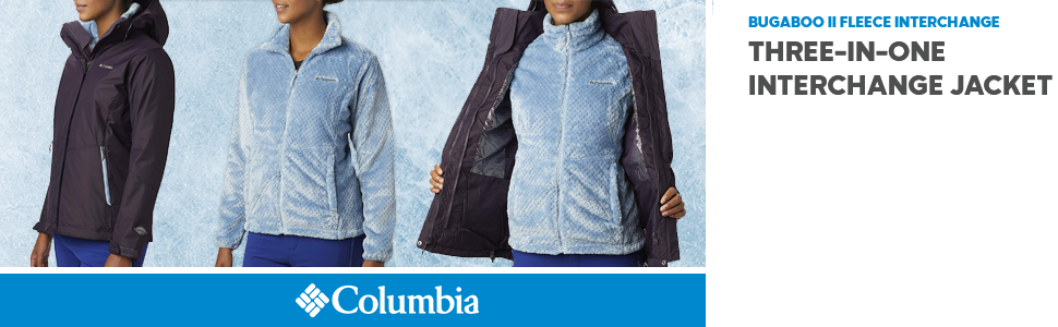 columbia bugaboo II fleece jacket womens