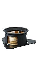 コレス cores コーヒードリッパー 丸山珈琲共同開発 ゴールドフィルター ブラック 1杯用 ペーパーフィルター不要 C210