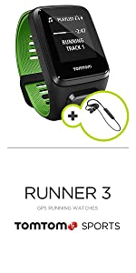 ... Reloj GPS TomTom Runner 3 Cardio + Music + auriculares