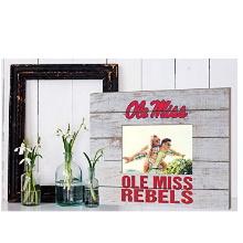 Mississippi Rebels Team Spirit Slat Frame