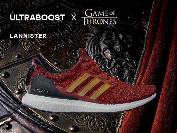 ayer Modernizar Creyente  Amazon.com | adidas x Game of Thrones Women's Ultraboost Running Shoes, off  white/silver metallic/black, 5 M US | Road Running
