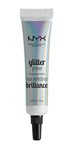 nyx, primer, glitter