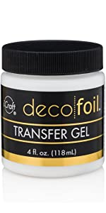 Deco Foil Transfer Foil Gel