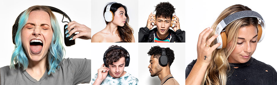 Crusher Wireless Immersive Bass Headphones on Models