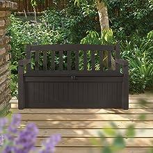 eden deck box storage bench