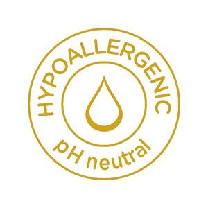 Hypoallergenic pH nuetral