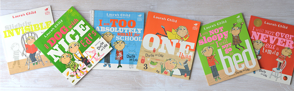 All Charlie and Lola Picture Books