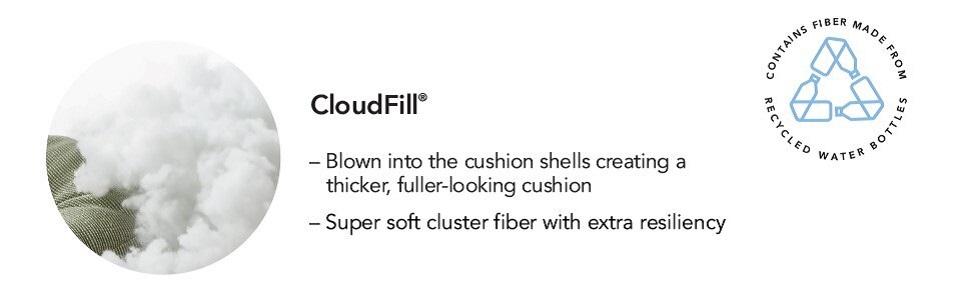 klear vu non sklip cushions gripper pads chair cloudfill