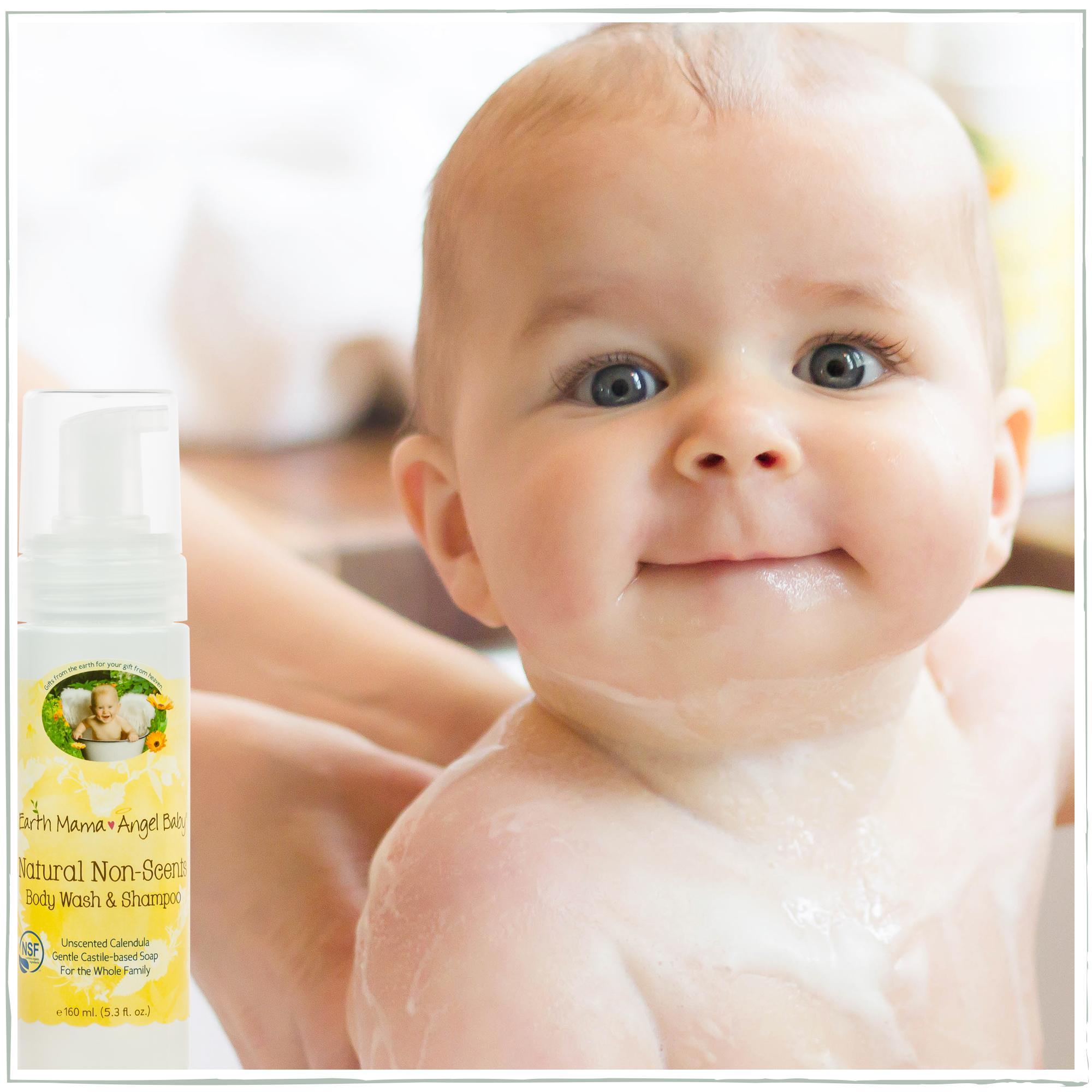 Amazon.com: Earth Mama Natural Non-Scents Baby Wash Gentle