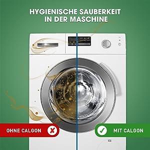 Anwendung waschmaschine calgon tabs Calgon 2in1