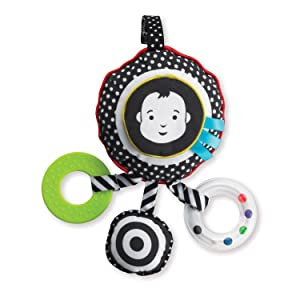 black and white baby toys, black and white infant toys, black and white developmental toys, 0 month