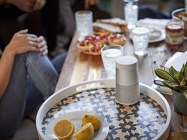 soundlink revolve, portable speaker, bluetooth speaker