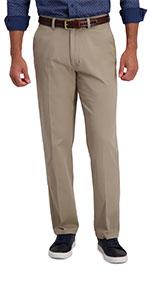 Haggar, haggar motion khaki, motion khaki, casual pants, casual khakis, classic fit, flat front
