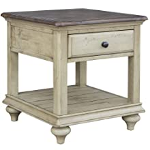 square table,square side table,nighstand with drawer and shelf,square side table