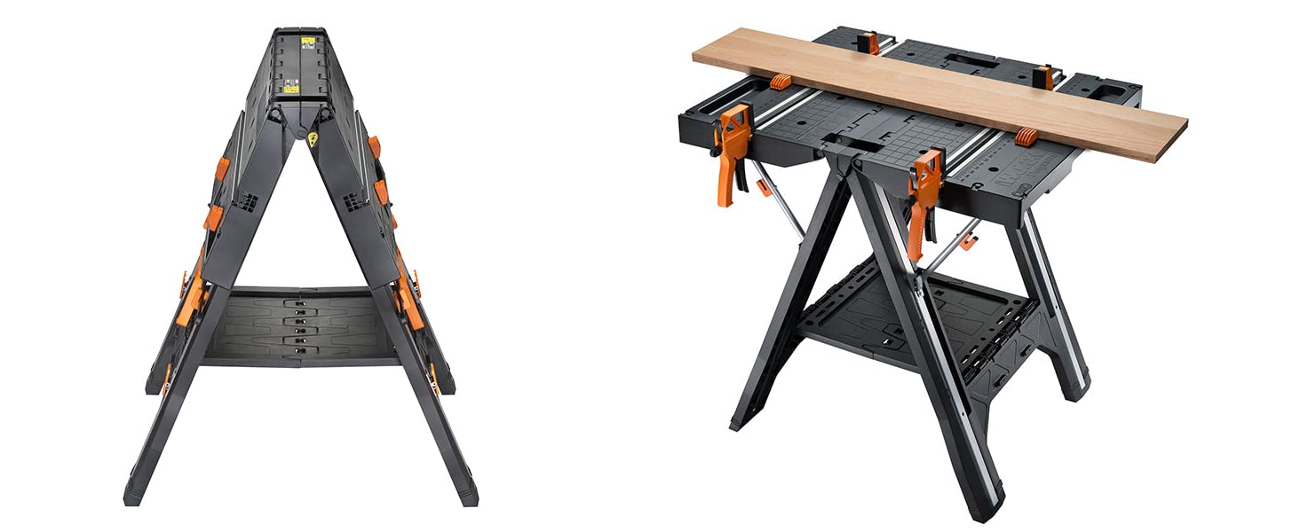 Holds up to 1000 lbs ; Easy to Carry; Cargo Shelf; 2 Powerful Clamps