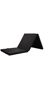 Pilates mat, foldable