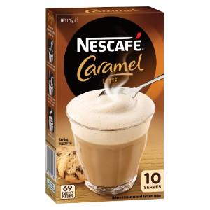 Nescafe Caramel Latte