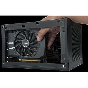 MSI GeForce GT 1030 Aero ITX 2G OC - Tarjeta gráfica (tamaño ITX, 2 GB Memoria GDDR5, VR Ready)