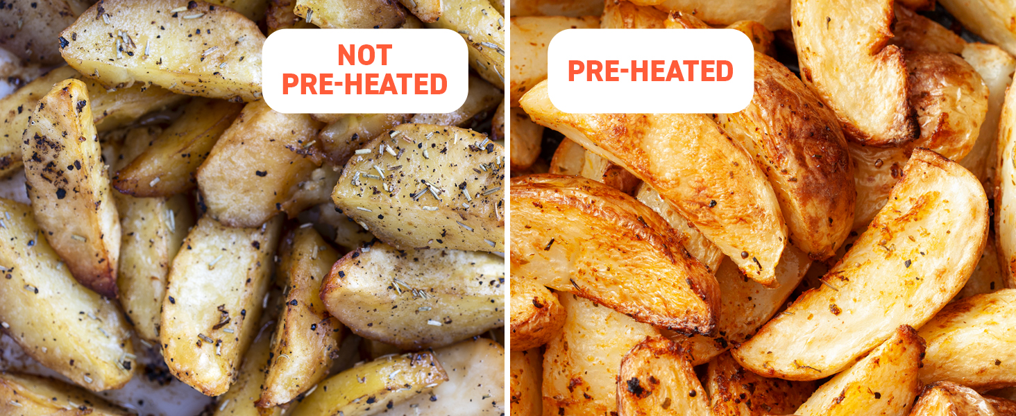 The Benefit of Preheating