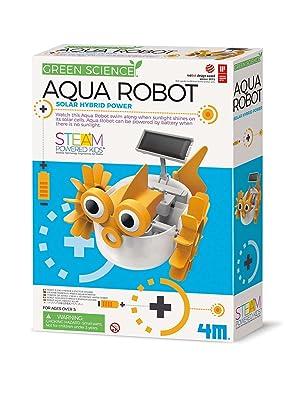 aqua robot, green science, 4m robots