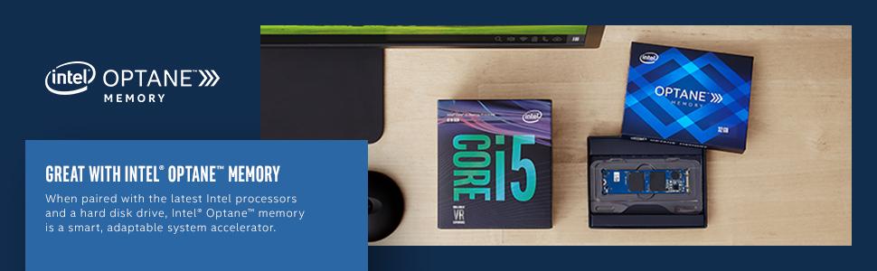 8th gen Intel Core i5-8500 processor Intel Optane memory