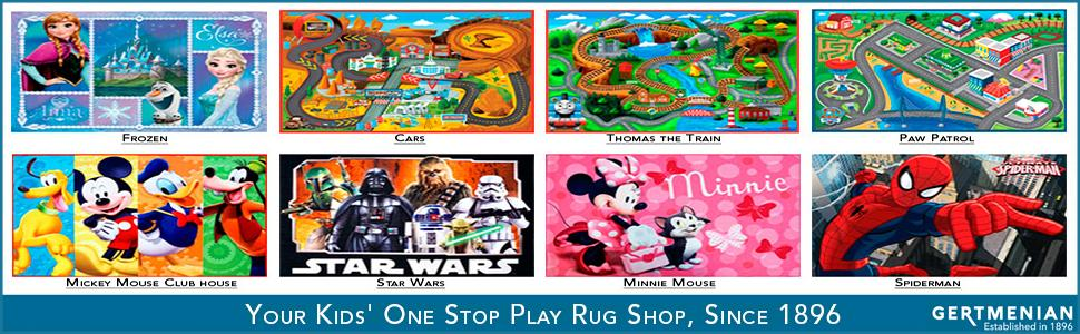 Amazon Com Disney Junior Girls Toy Rug Carnival Sheriff