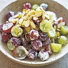 葡萄と新生姜のクリームサラダ