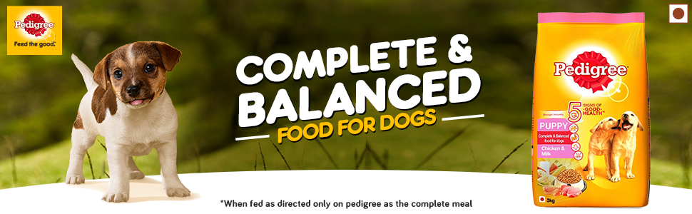 Complete Balanced food for your Puppy