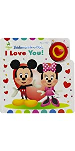 Mickey and Minnie- Skidamarink-a-Doo, I love You! Sing-a-Long Sound Book