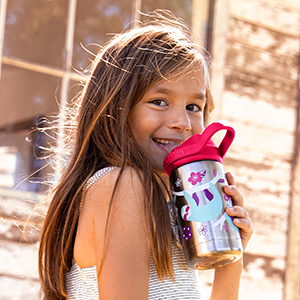 kids water bottle, childrens bottle, sippy cup, water bottle with straw, kids bottle, eddy bottle