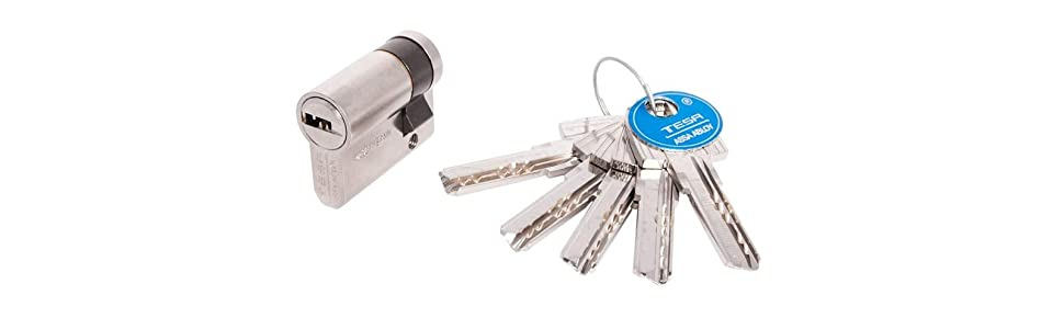 Cilindro Tesa; Cilindro T60; Cilindro de seguridad; Cilindro Anti-bump; Cilindro