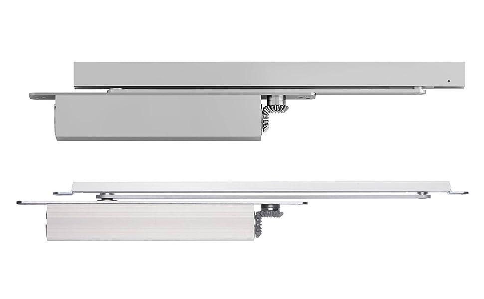 Tesa DC860-40 Cierrapuertas de embutir, Plata, Eje 0 mm, Set de 6 Piezas: Amazon.es: Bricolaje y herramientas