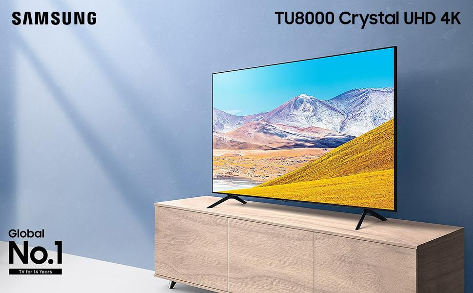 TU8000 Crystal UHD 4K TV (2020)