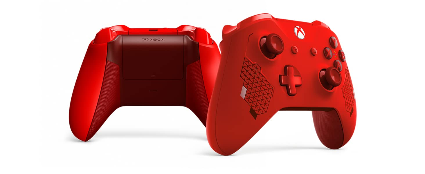 Microsoft - Mando inalámbrico deportivo, Sport Red [Edición ...