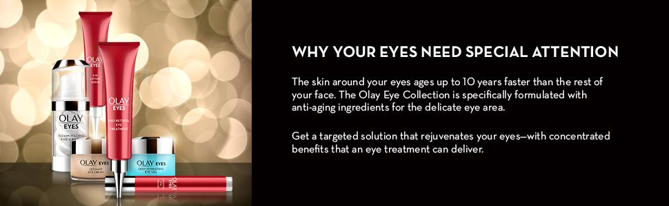eye cream, puffy eyes, dark circles, cream for wrinkles, olay eye cream