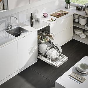 Candy cdp 2l1049w lavastoviglie 10 coperti aquastop for Amazon lavastoviglie
