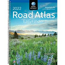2022 Midsize EasyFinder Road Atlas