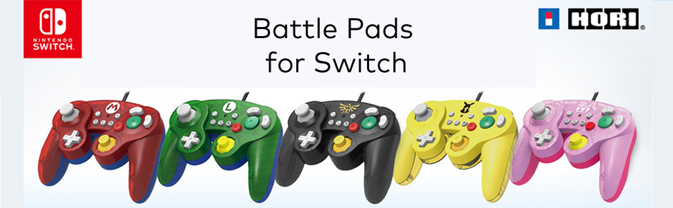 Battle Pads for Switch