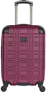 kenneth cole reaction women luggage suitcase carry on travel cute stylish designer hardside small