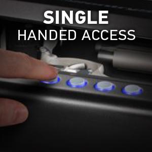 pistol safe quick access, bedside gun safe, biometric gun safe fingerprint, gun safe biometric