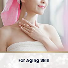 Gold Bond can help lighten dark spots and improve wrinkles.